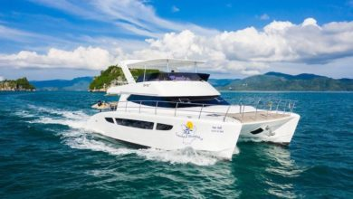 Photo of Koh Samui offer: 20% discount on private charter 45 feet power catamaran