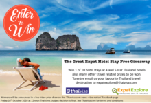 Photo of The Great Expat Explore Hotel Stay Prize Draw Giveaway